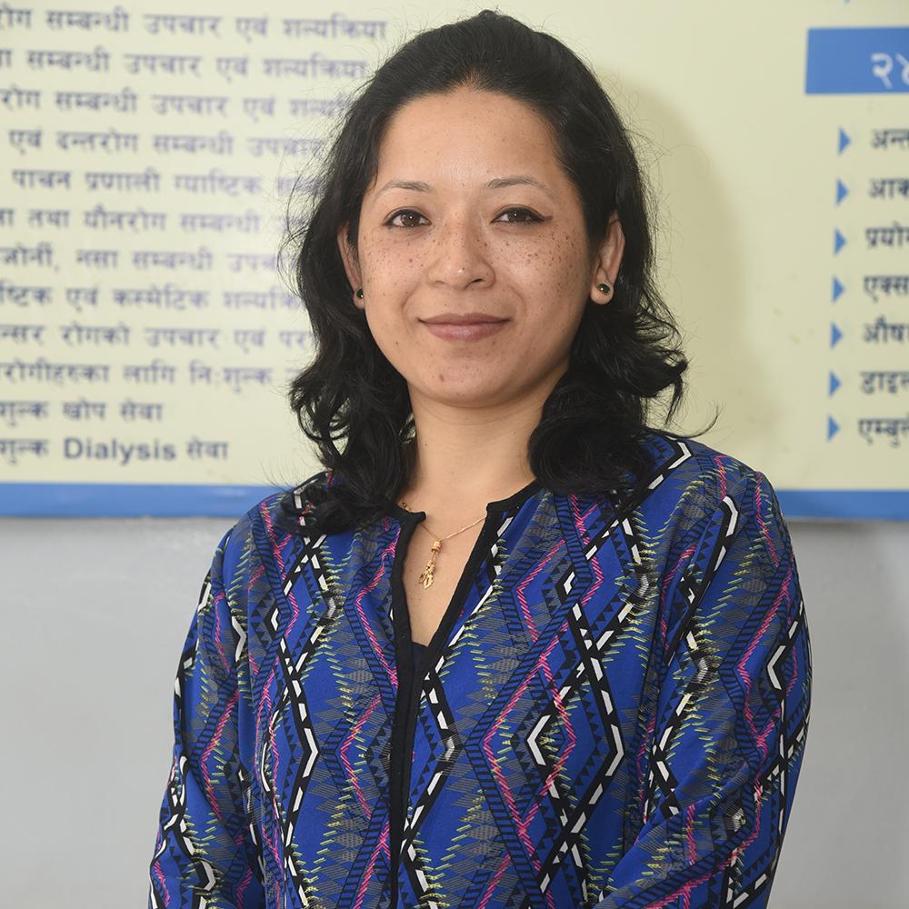 Dr. Ujjma Shrestha